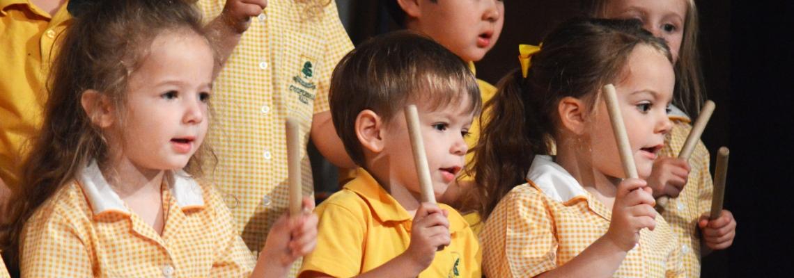 Kindergarten music Coopersale Hall