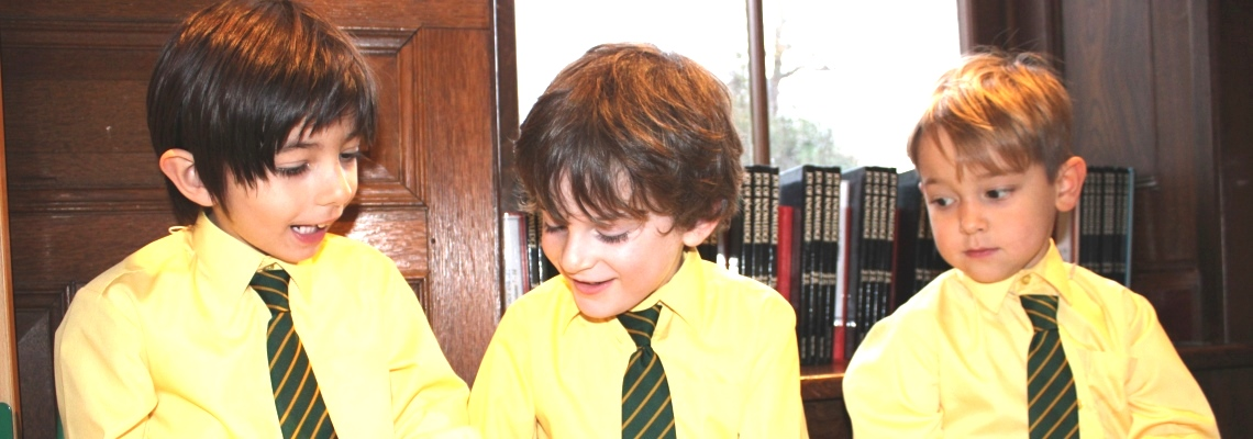 Pupils learning at Coopersale Hall