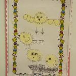 Year 1 Artwork at Coopersale