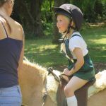 Horse riding at Coopersale Independent Prep School