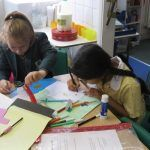 Pupils learning Coopersale Hall School