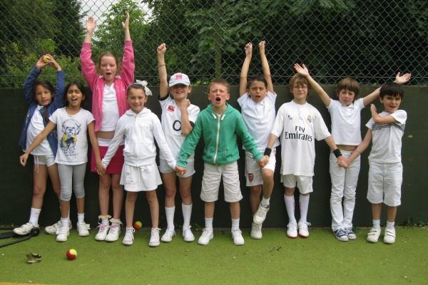 Tennis at Coopersale Prep School